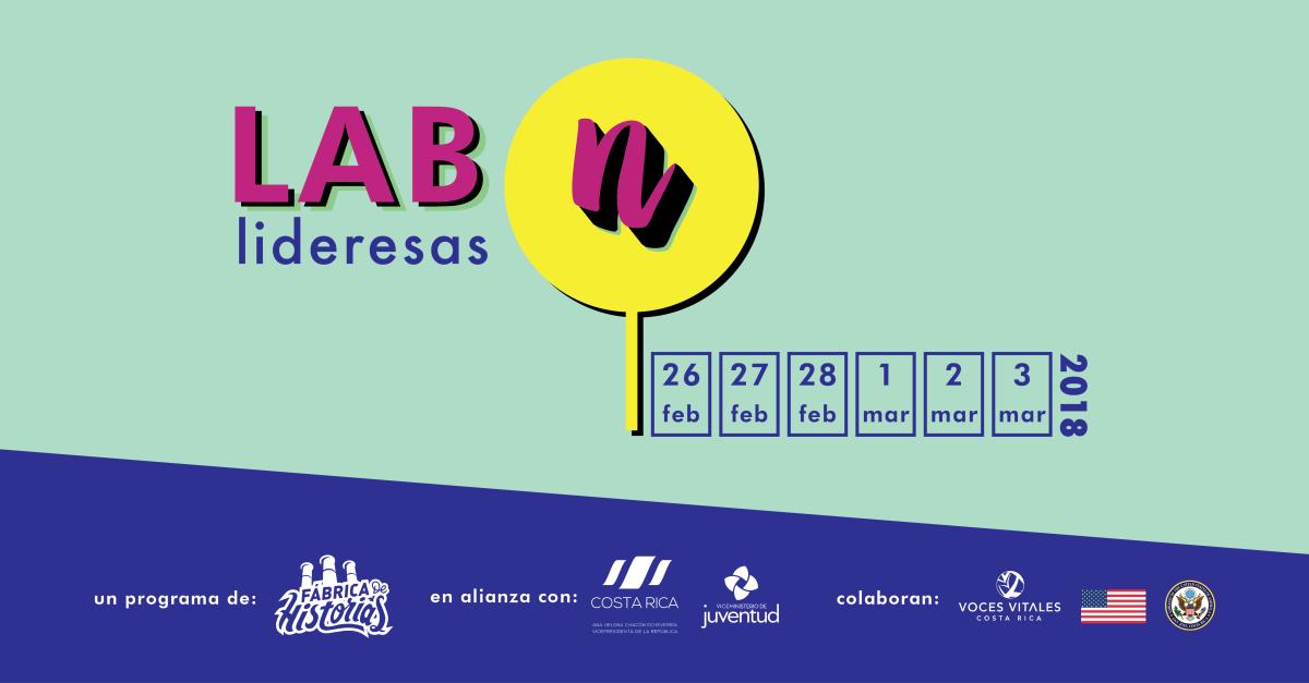 Convocatoria 2018: LAB Nosotras Lideresas